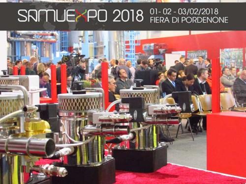 PORDENONE FIERE annuncia l'arrivo di SamuExpo 2018 Fiera di Pordenone dal 1 al 3 febbraio 2018