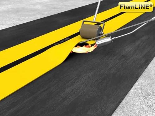 DERBIGUM propone FlamLINE giunto di dilatazione per coperture bituminose