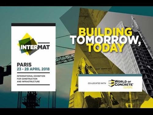 MB CRUSHER sarà presente a INTERMAT Parigi 23-28 Aprile 2018