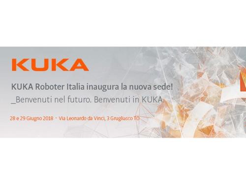 KUKA Roboter Italia vi invita all'inaugurazione della nuova sede