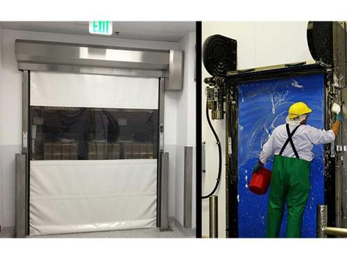 Le porte rapide per camere bianche di RITE-HITE