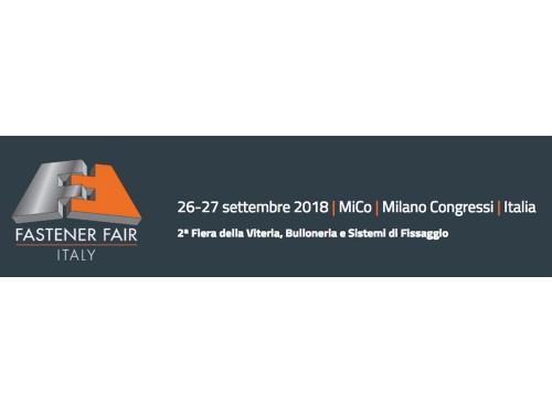 BERARDI BULLONERIE partecipa a Fastener Fair Italy 2018