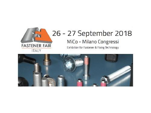 AIFM partecipa a Fastener Fair Italy 2018 a Milano