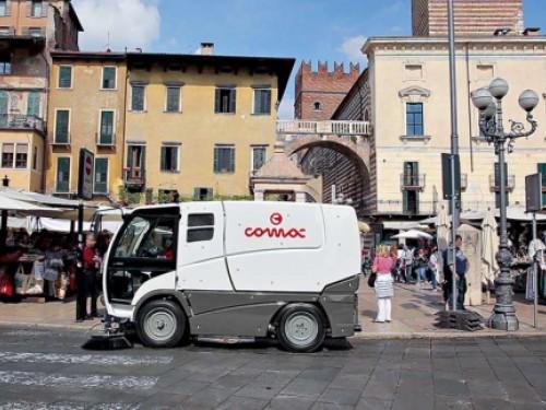 COMAC presenta la nuova gamma di spazzatrici per l'igiene urbana