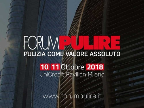 Forum Pulire 2018 e le aziende partner di POOL INDUSTRIALE