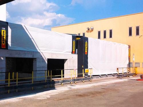 I tunnel mobili motorizzati di grande dimensione di KOPRON
