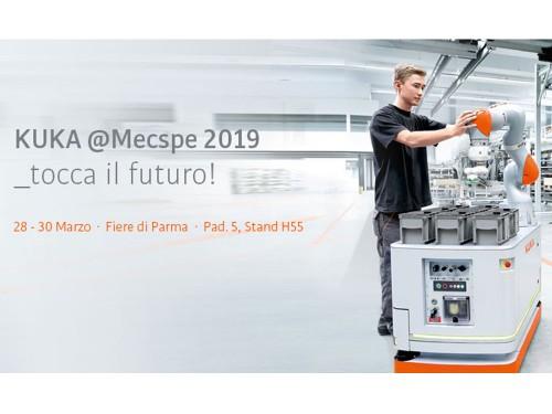 Le soluzioni per la smart manufacturing di KUKA al Mecspe 2019