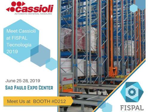 La movimentazione industriale di CASSIOLI al FISPAL 2019