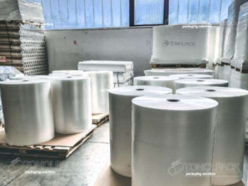 Produzione film plastici per tutte le esigenze nel nuovo stabilimento TOMOLPACK