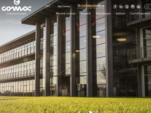 COMAC lancia il nuovo sito web con tutte le soluzioni per la pulizia professionale