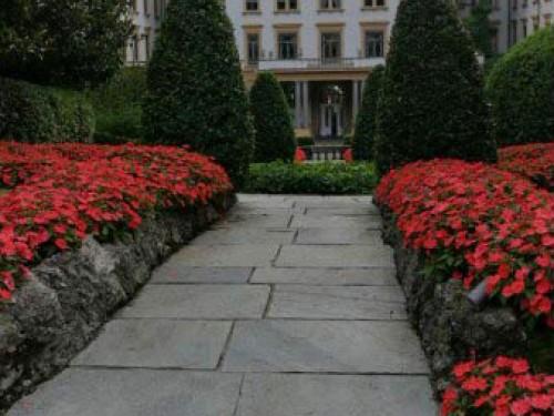 Pavimenti in resina nell'Hotel Villa d'Este a Cernobbio - PRIMA PAVIMENTI