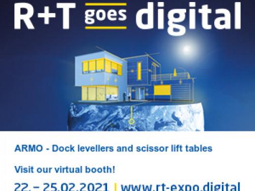 ARMO vi invita alla fiera R+T Digital 2021 con tutte le soluzioni per la logistica industriale