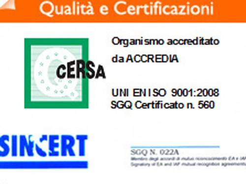 PACKMA migliora, implementa e riconferma la certificazione VISION 2000