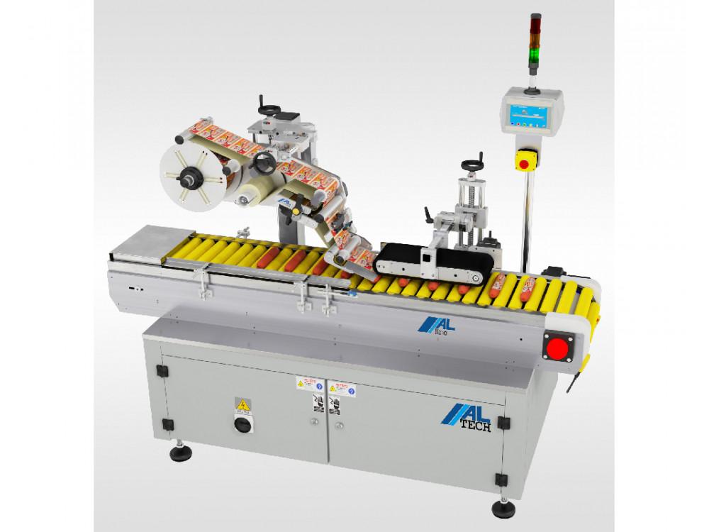 Sistema di etichettatura lineare per prodotti cilindrici ALline