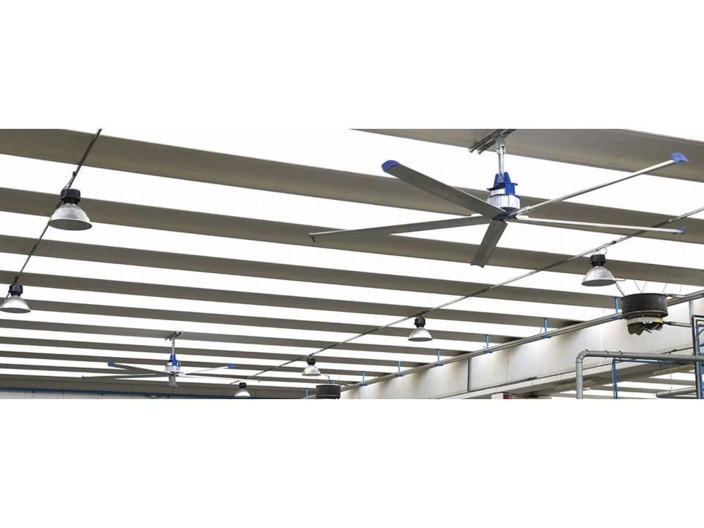 Sistemi di ventilazione civile e industriale