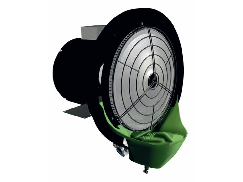 Nebulizzatore centrifugo/ventilatore con funzione di raffrescamento e umidificazione