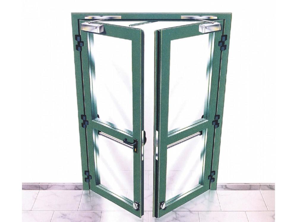 Porte tagliafuoco a vetri