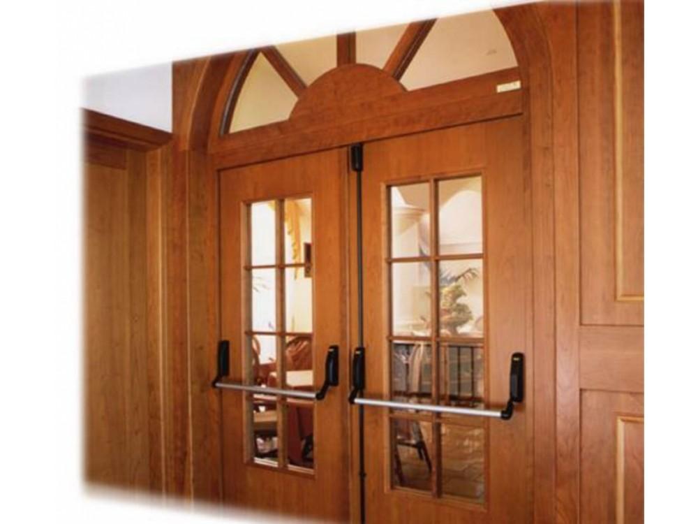 Porte tagliafuoco in legno REI 30 - REI 45 (alberghi) - REI 60 - REI 120