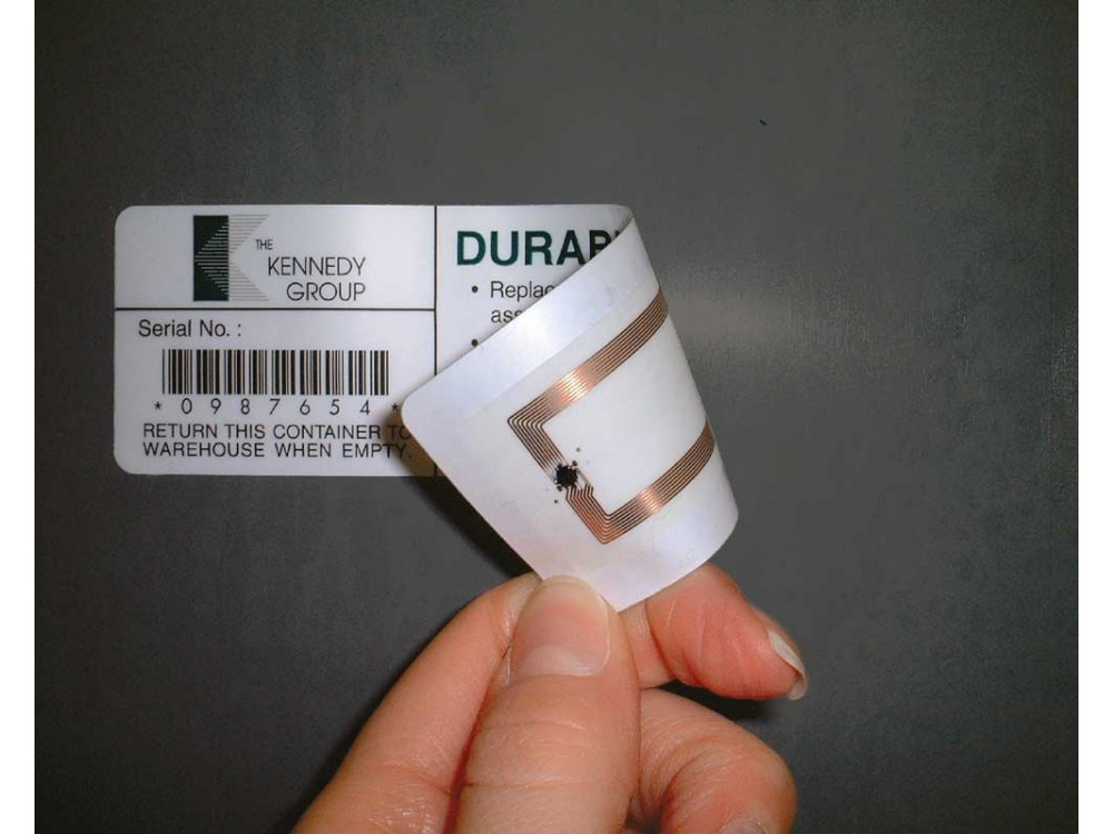 Etichette RFID per identificazione in radiofrequenza