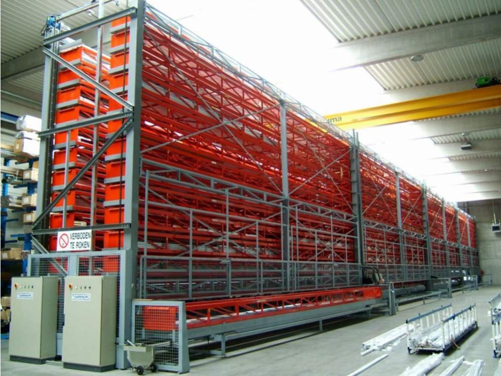 Impianti di stoccaggio automatizzato verticale progettati ad hoc