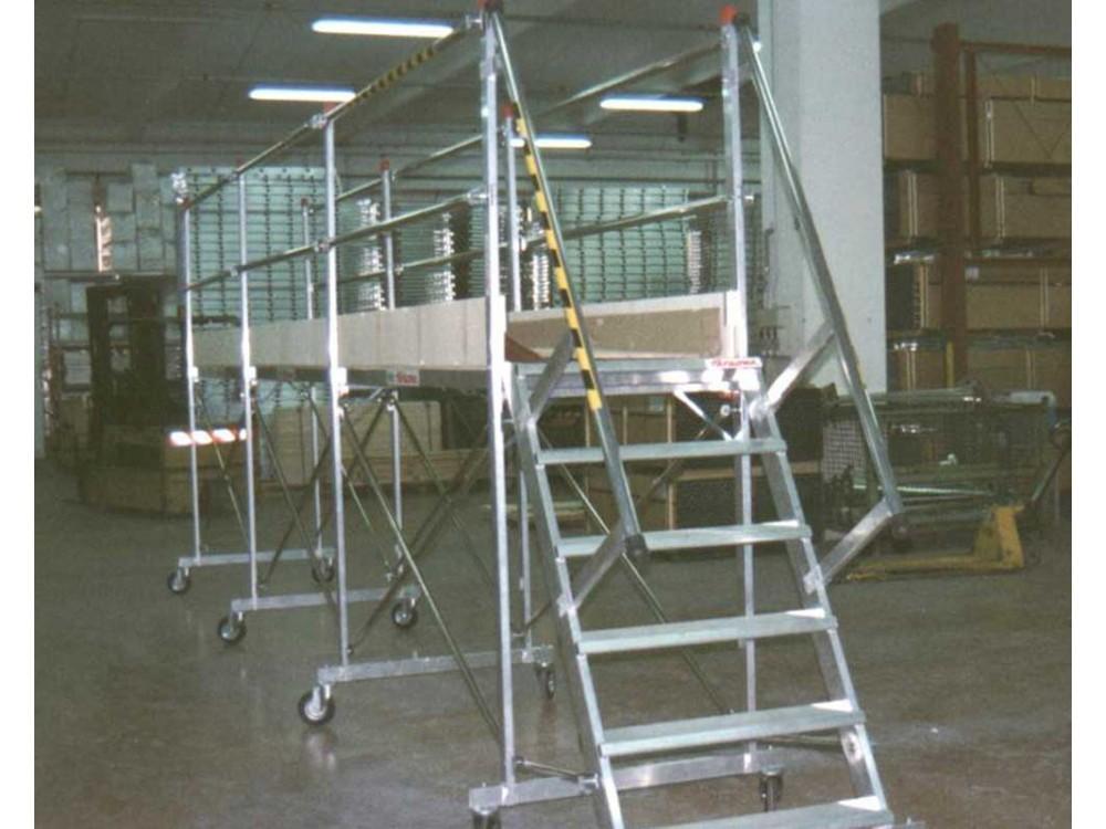 Passerelle speciali in alluminio