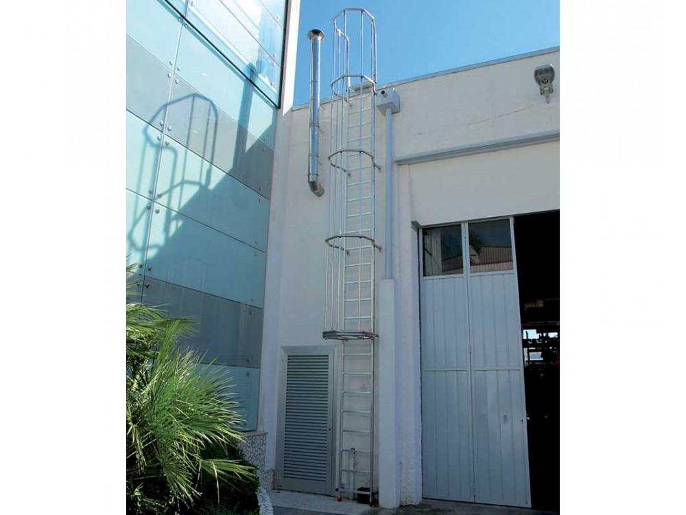 Scala verticale di sicurezza