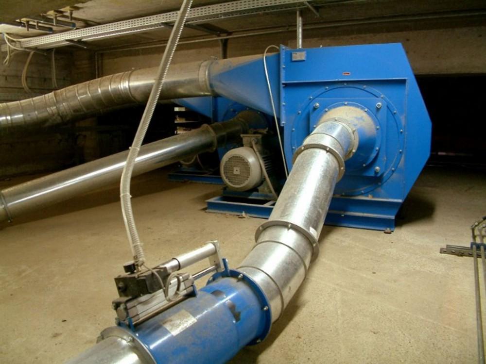 Ventilatori per trasporto rifili carta, alluminio, film