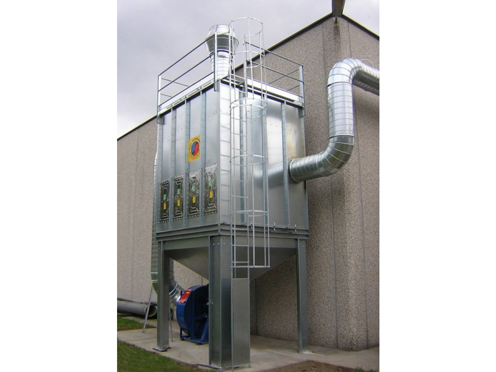Sistema di filtri a carboni attivi