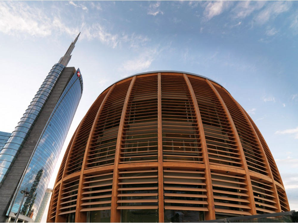 Grandi opere edilizie in legno lamellare