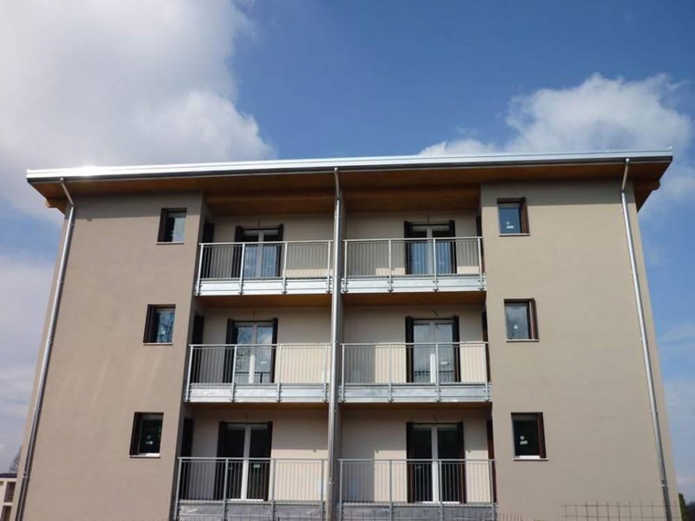 Edifici residenziali realizzati con sistema costruttivo X-Lam