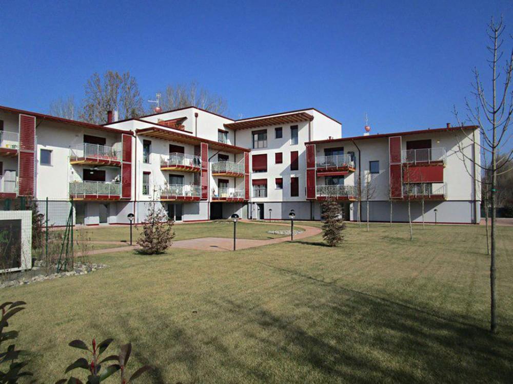 Palazzina residenziale realizzata con il sistema costruttivo Aria