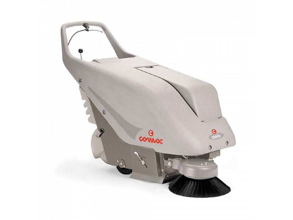 Motospazzatrice COMAC CS50 per pulizia spazi medio-grandi
