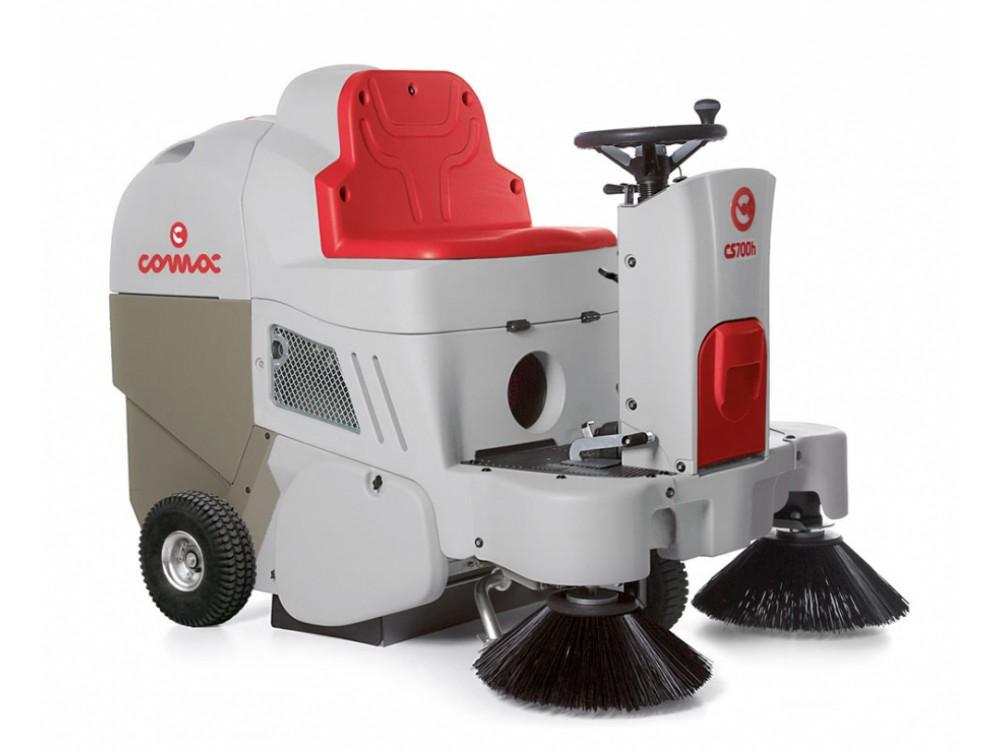 Motospazzatrici COMAC CS700/800 per spazi commerciali e industriali