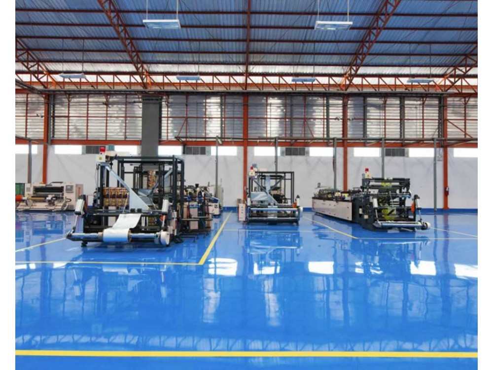 Pavimenti industriali in resina per reparti produttivi