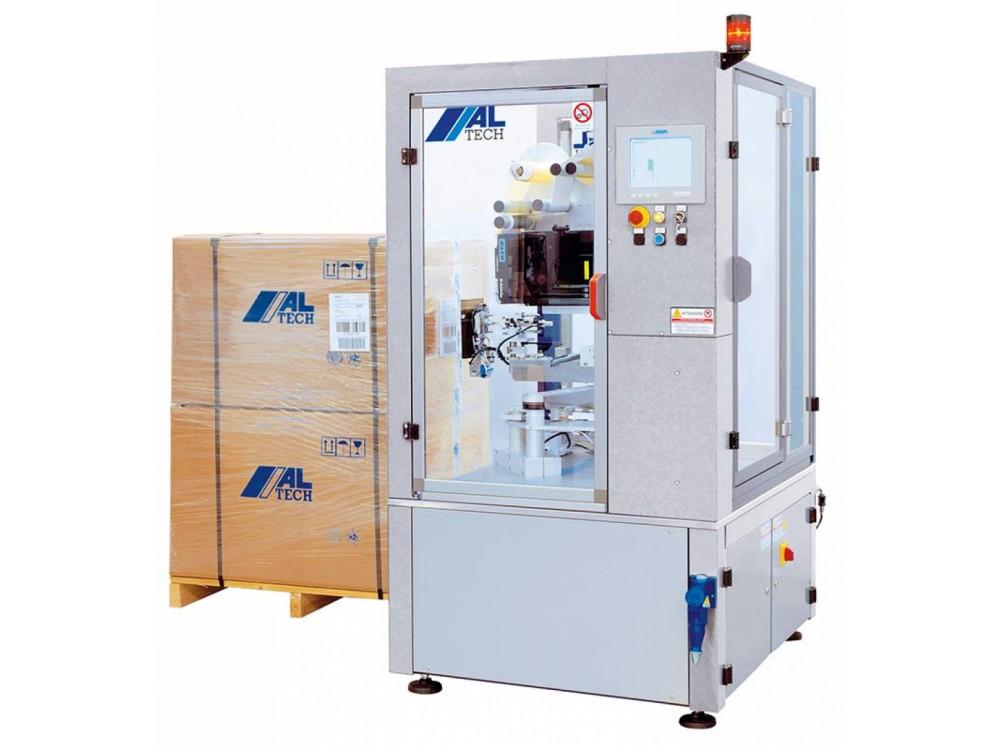 Sistema stampa e applica ALcode P per etichettatura di bancali e pallet