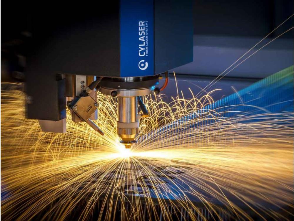 Macchina per taglio laser fibra CY2D 2D