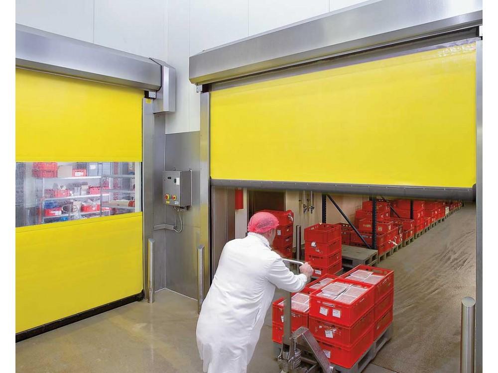 Portoni flessibili ad impacchettamento per ambienti sterili