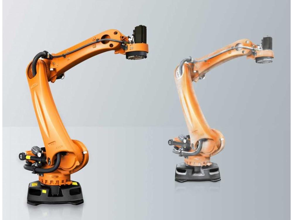 Robot pallettizzatore per ambienti refrigerati