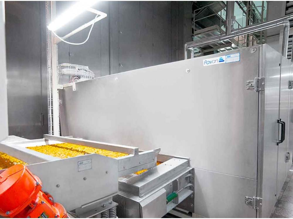 Impianto completo di produzione pasta a taglio corto