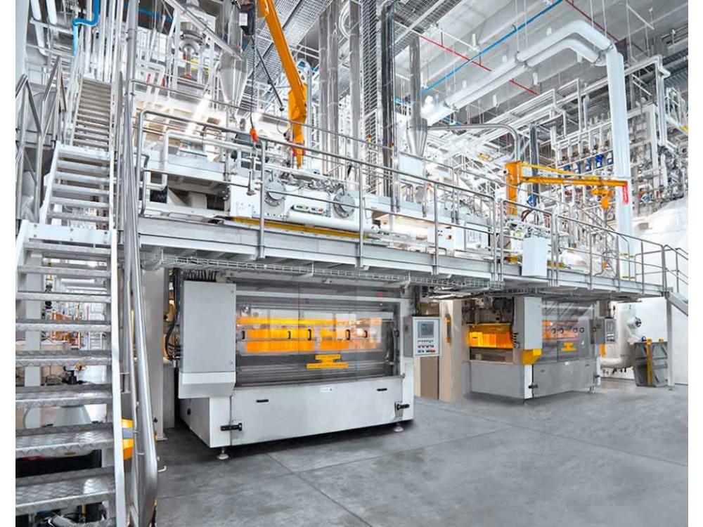 Impianto di produzione per pasta lunga