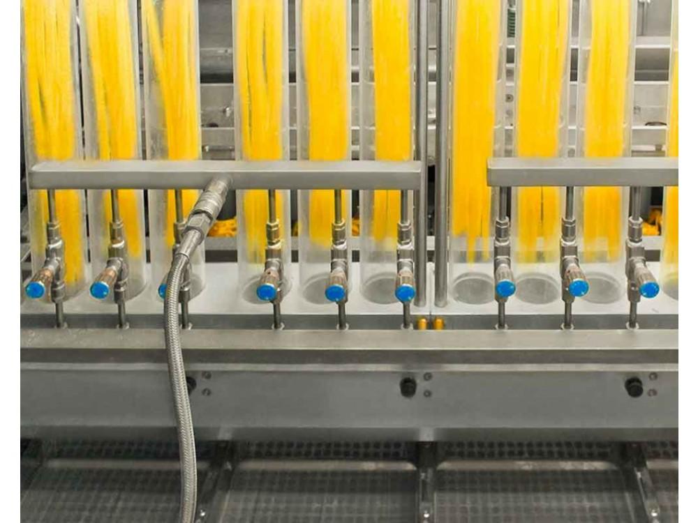 Impianto di produzione per pasta secca a forma di nido
