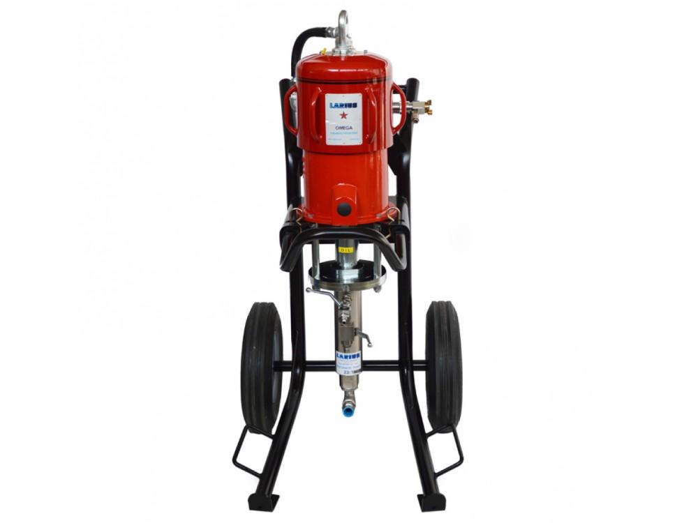 Idropulitrice pneumatica in acciaio inox ad alta pressione
