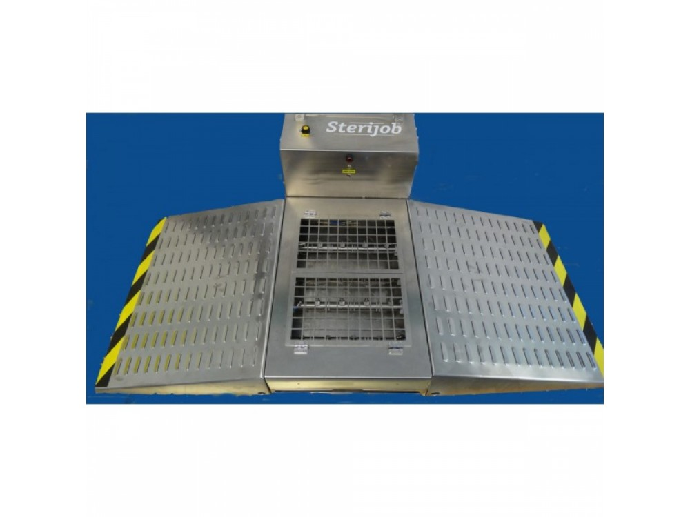 Nebulizzatore Sterijob inox per igienizzare calzature
