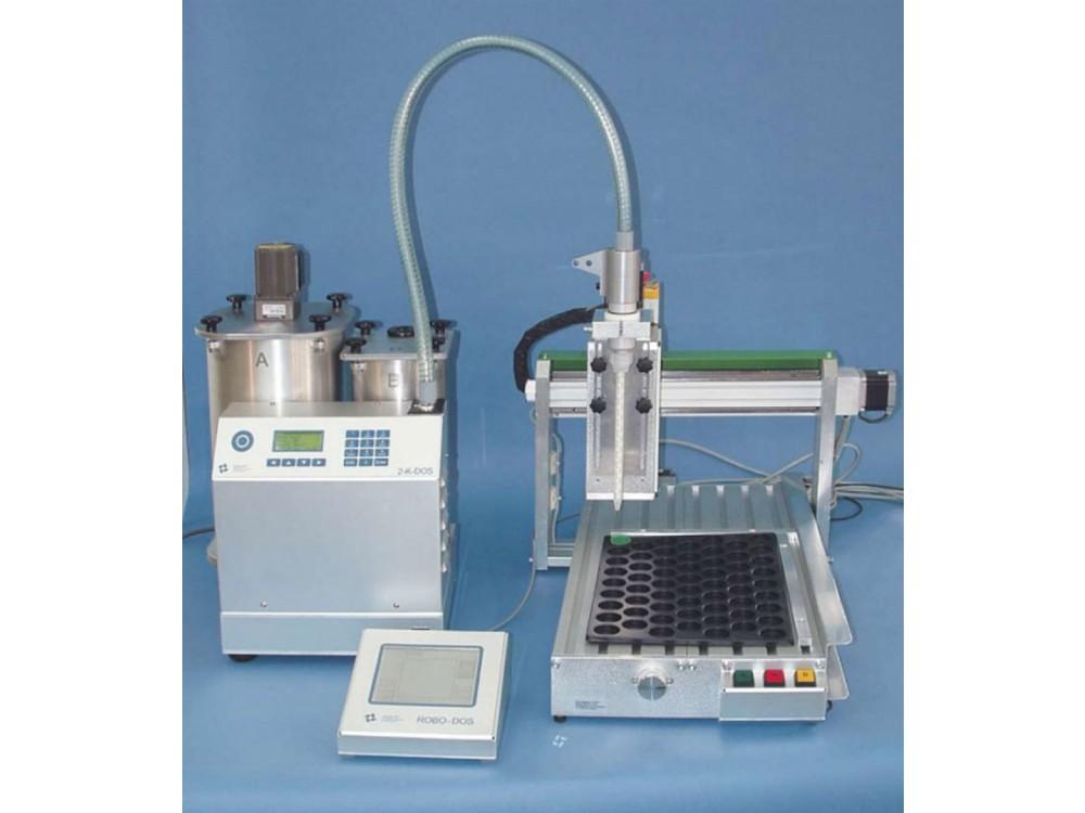 Sistema di dosatura per resine bicomponenti