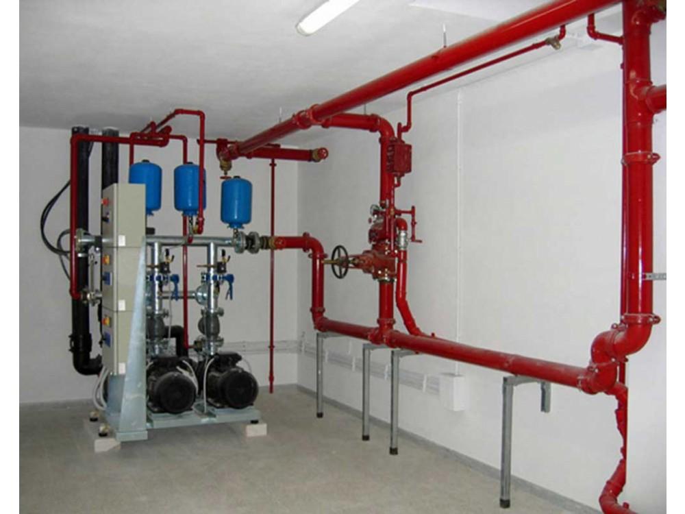 Installazione di impianti antincendio