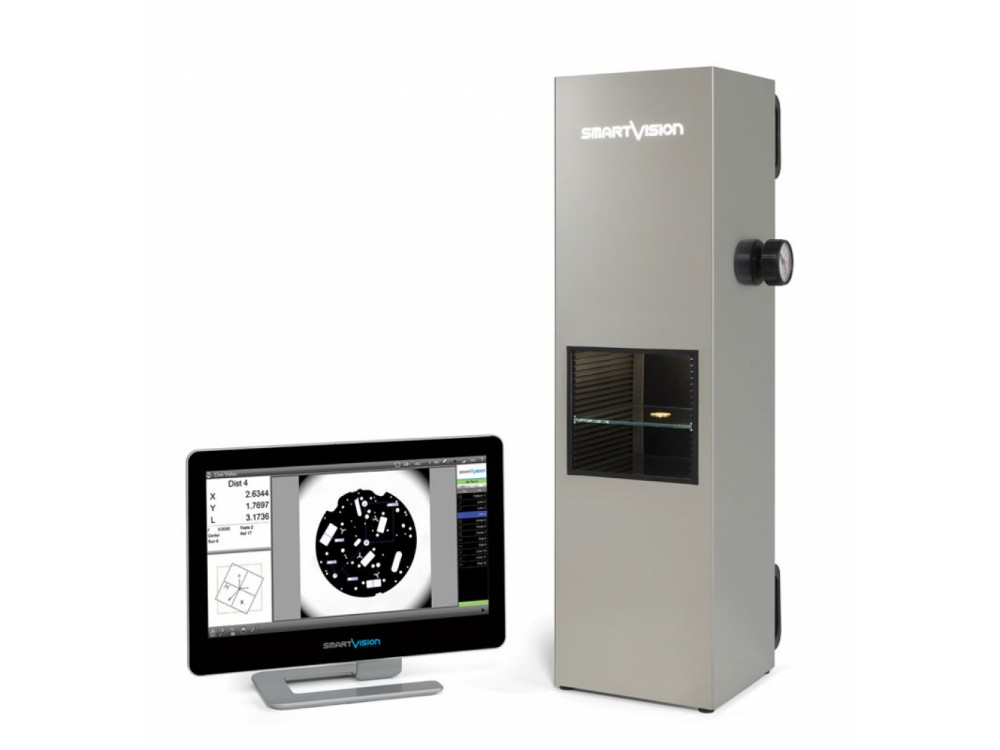 Proiettore di profili automatico per il controllo dimensionale