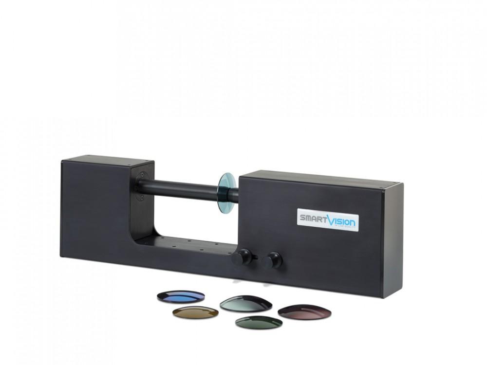 Spettrofotometro industriale per lenti ed occhiali da sole