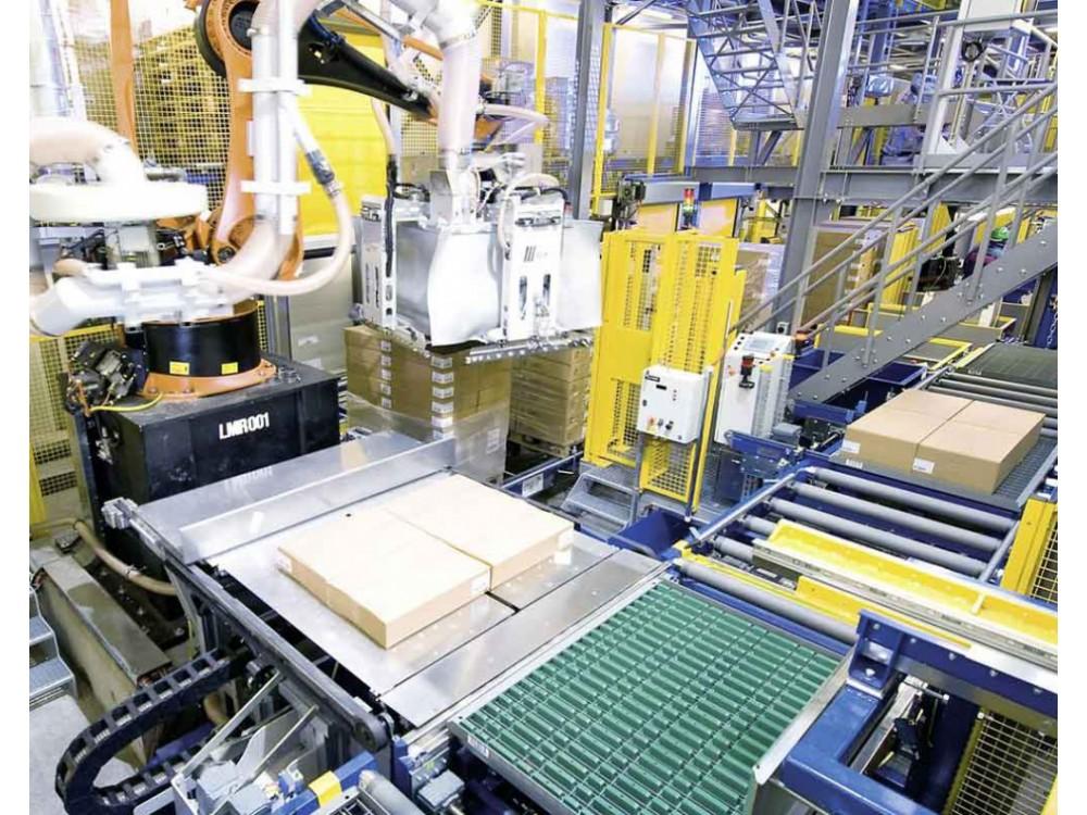 Depallettizzatore robotizzato
