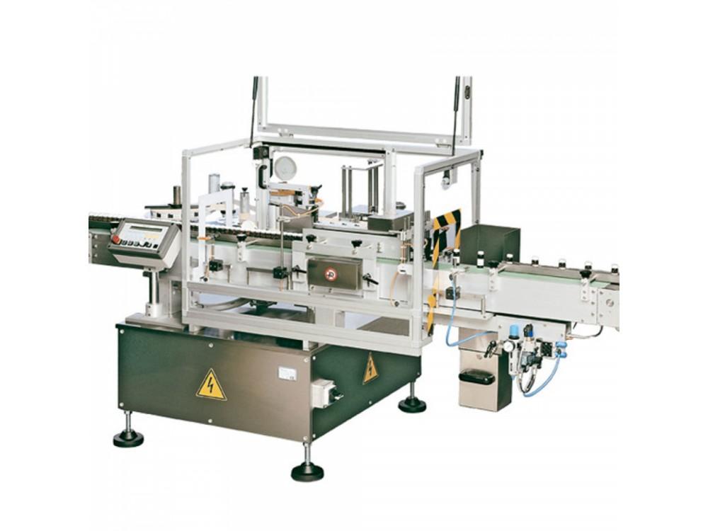 Etichettatura automatica per prodotti cilindrici