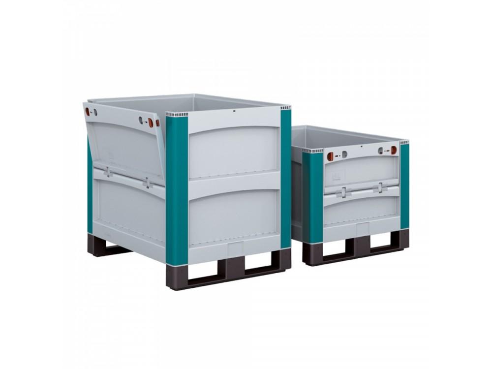 Contenitori per grandi volumi robusti e con coperchio